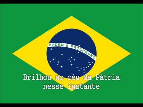 National Anthem of Brazil Instrumental with lyrics