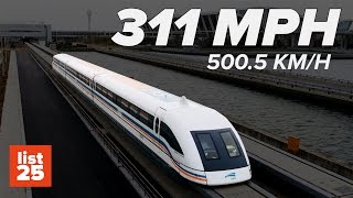 25 Fastest Trains in the World You'll Miss if You Blink