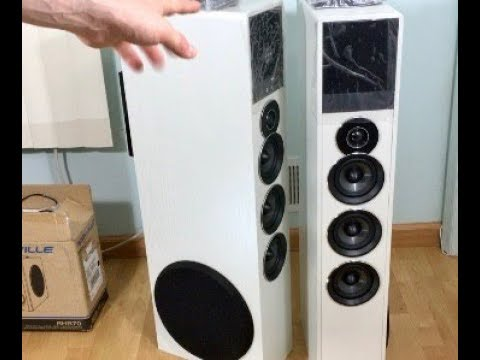 Rockville TM150 HUGE and CHEAP Bluetooth Speakers 1000 Watts
