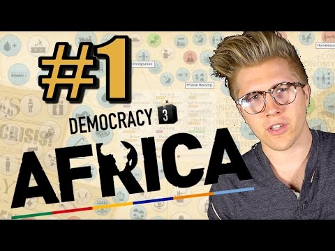 Democracy 3: Africa [Gameplay & Let's Play] South Africa - Part 1