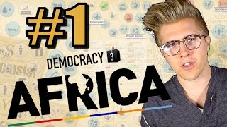 Democracy 3: Africa [Gameplay & Let