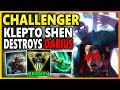 RIOT? SHEN IS OP NOW... NOT EVEN GM DARIUS COULD HANDLE MY 1v9 BUILD! | Unranked to Challenger EP 57