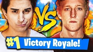 ANIMA VS FAZE TFUE! MATCH ASSURDO CON VITTORIA REALE! Fortnite Battle Royale