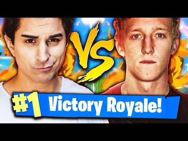 ANIMA VS FAZE TFUE! MATCH ASSURDO CON VITTORIA REALE! Fortnite Battle Royale