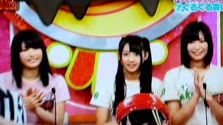 松井珠理奈が玲奈の顔面にボールをぶつけます。ゆきりんの会いたかった...