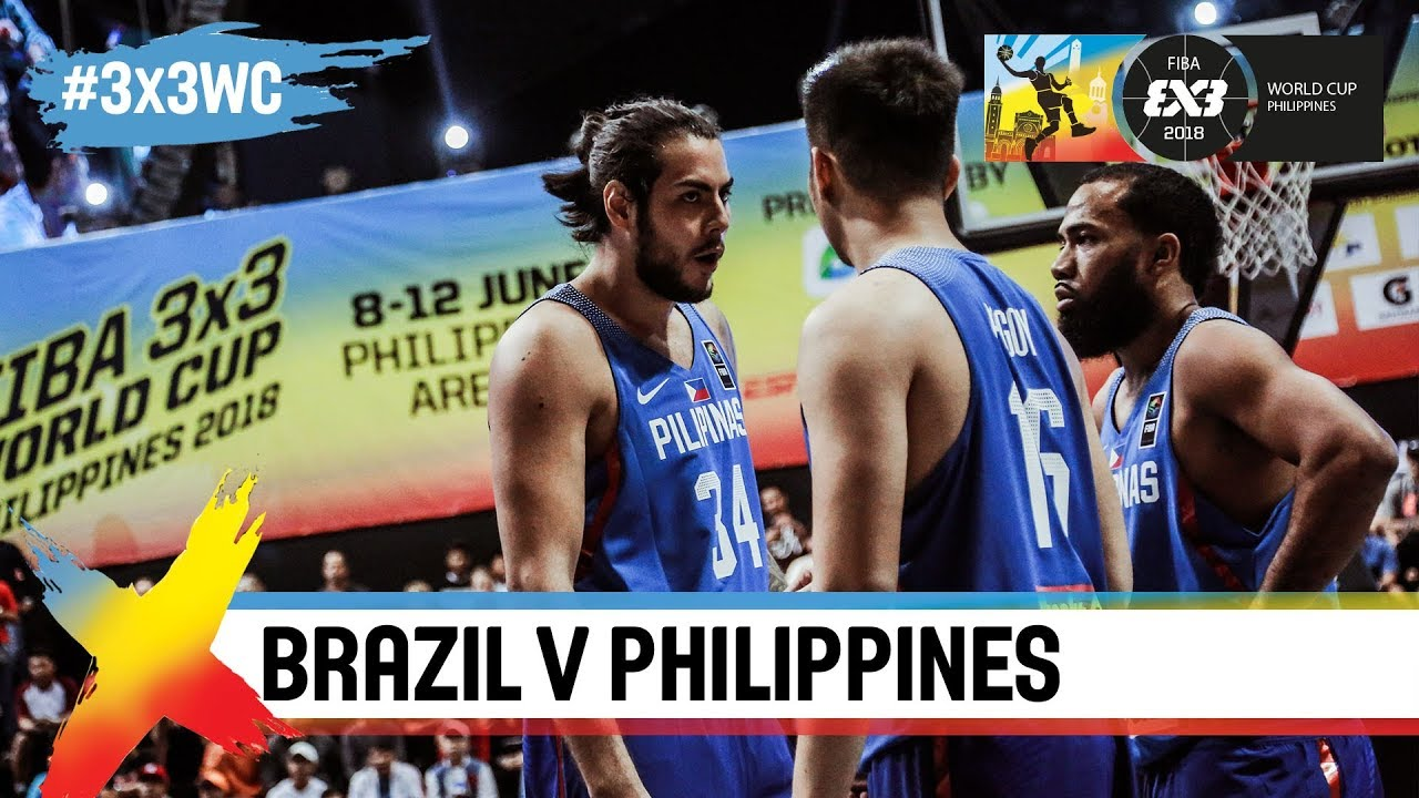 Philippines dominate Brazil in opening game! | Full Game | FIBA 3x3 World Cup 2018
