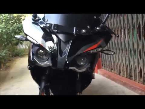 Pulsar RS 200 (Demon Black) (HD)