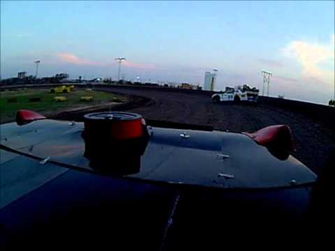 dad's heat race in-car camera