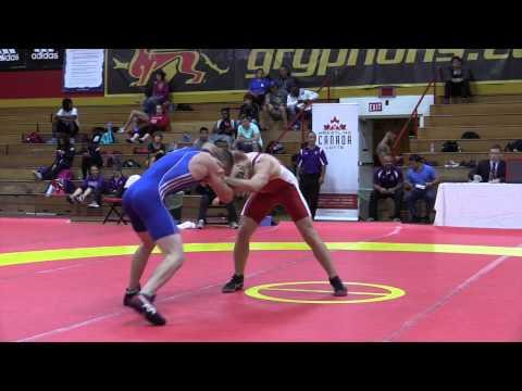 2015 World Team Trials: 61 kg Scott Schiller vs. Jake Hergenhein
