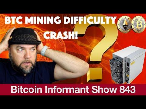 #843 Bitcoin & Ethereum Dreamteam, Bitmain Antminer S19 ausverkauft & BTC Mining Difficulty Crash