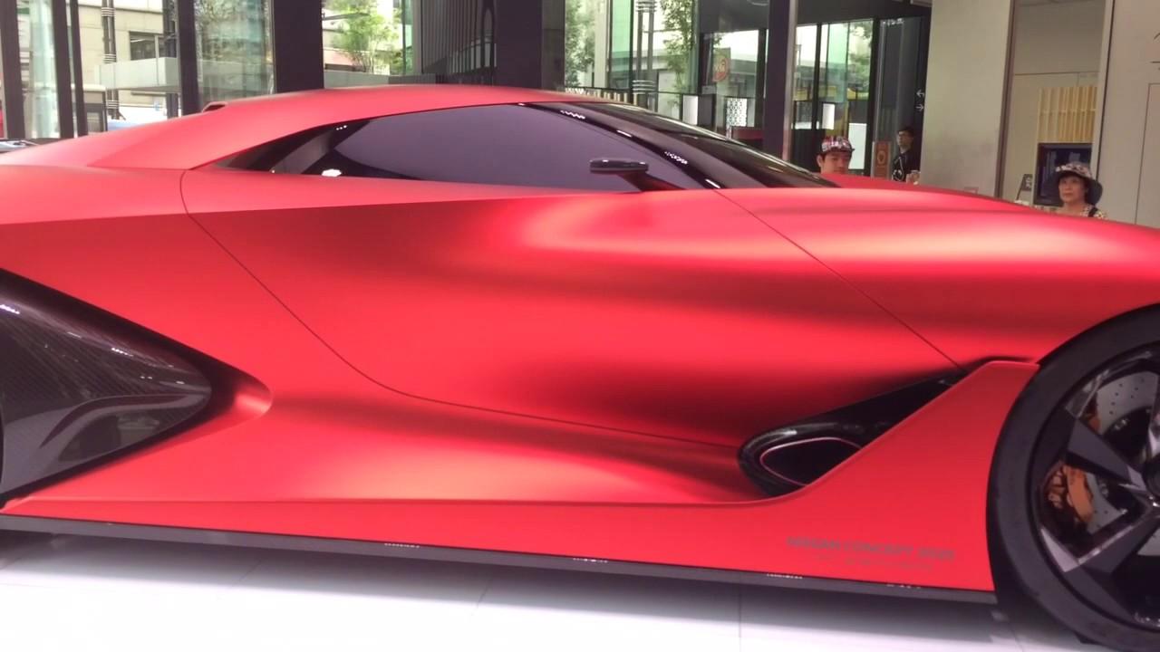 Nissan Skyline 2020 concept - YouTube