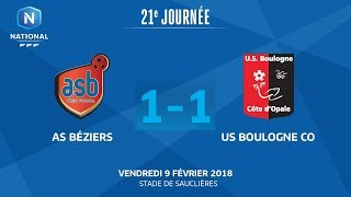 AS Beziers vs Boulogne full match