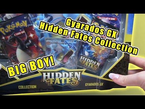 Opening A *LUCKY* Hidden Fates Collection Gyarados GX Box