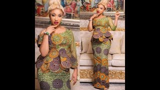 50 MOST GORGEOUS ANKARA DRESS STYLES 2019: LATEST AFRICAN FASHION DRESSES