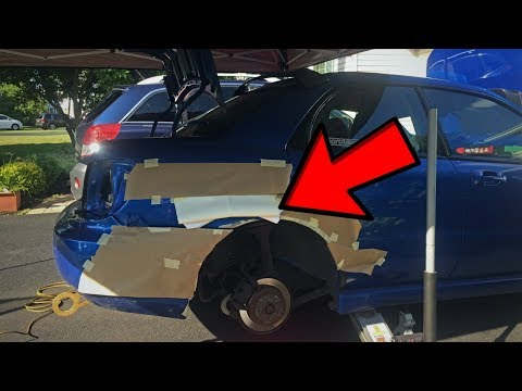 DIY Rust Repair – Northern Subaru WRX