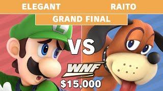 WNF 2.6 $15k - Elegant (Luigi) VS Raito (Duck Hunt)- Grand Final - Smash Ultimate