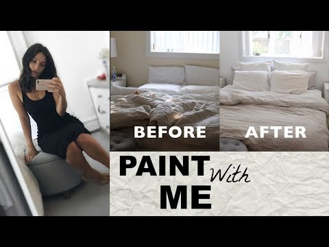 Painting My Room | Vlog Style