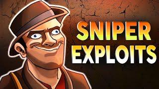 TF2 - 7 Sniper Exploits in 3 minutes