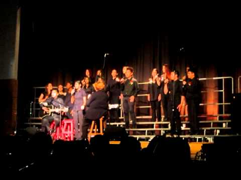 Mary Ward C.S.S Spring Concert 2012 -- Ensemble Singers (Part 1- She was Mine, You Belong with me)