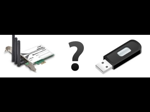 Какой адаптер Wi-Fi лучше: USB или PCI