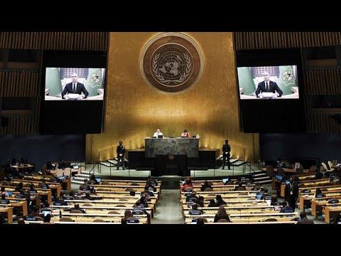Download Talibãs pedem para falar na Assembleia Geral da ONU