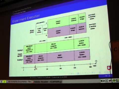 A Human-Aware Robot Task Planner (ICAPS 2009)