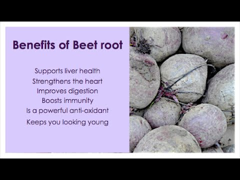 Beetroot health benefits - Herbal medicine