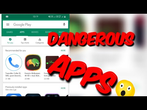 Dangerous Apps On Playstores 😳😱😰 HINDI- Khatarnak Apps On Playstore