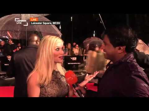Reese Witherspoon at premiere of 'Wild' at the British Film Festival
