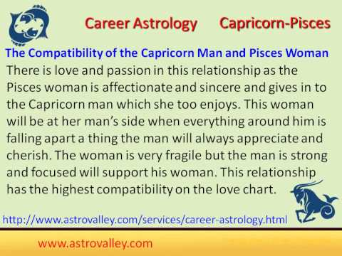 Pisces & capricorn romantic compatibility