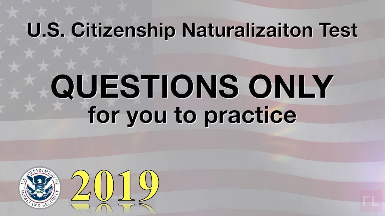 picture relating to Printable United States Citizenship Test named US Citizenship Try out \