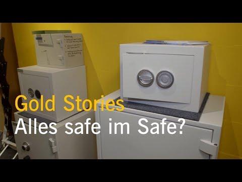 Gold Stories Teil 10: Alles safe im Safe? Wie Sie Ihre Schätze sicher aufbewahren.