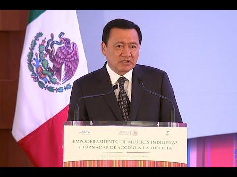 Culpables del caso Iguala enfrentarán la justicia: Osorio Chong