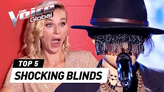 Most Unexpected And Shocking Blind Auditions In The Voice MP3