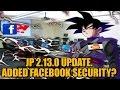 Jp 2.13.0 Update: Added Facebook Security? (jp) Dragon Ball Z Dokkan Battle video