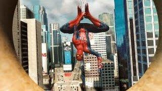 3 трейлера про игру новый человек паук 2