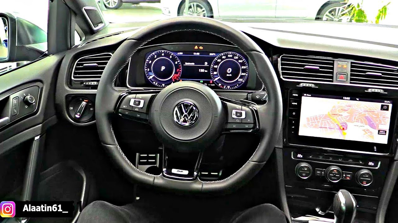 volkswagen golf r 2019 interior brutal sound youtube. Black Bedroom Furniture Sets. Home Design Ideas