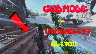 HOW TO GET GODMODE AND INVISIBILITY IN FORTNITE USING THIS GLITCH... (PS4/XBOX/PC)