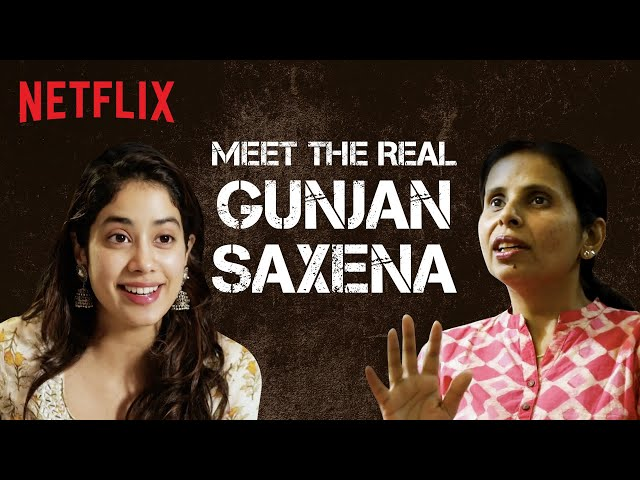 Here S What The Real Life Gunjan Saxena Thinks About The Netflix Film Entertainment News The Indian Express