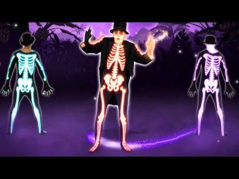 Halloween Songs for Kids | Just Dance Game | Hazel Rabbit Nursery Rhymes Baby Songs