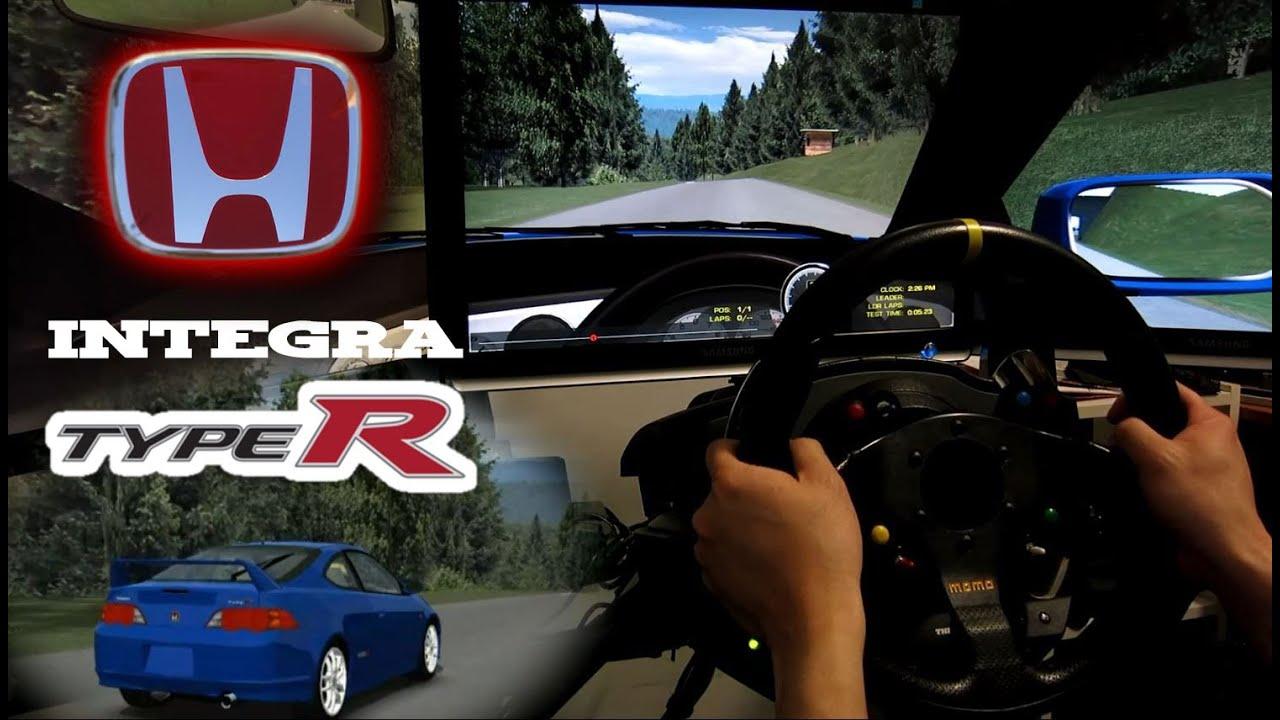 Honda integra type r dc5 n rburgring gesamtstrecke rfactor