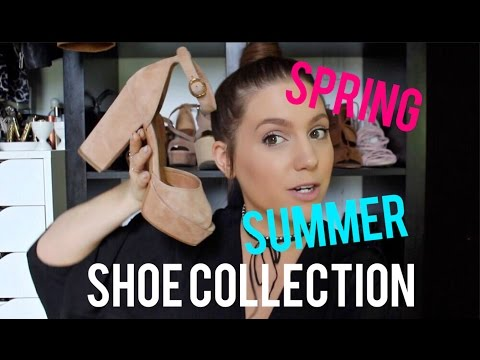 MY SPRING/SUMMER SHOE COLLECTION | MELSOLDERA