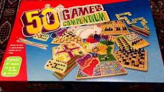 Games 50 Games Compendium Family Chess Draughts Ludo Bowling Cards Etc Unboxing Tesco Uk 2016