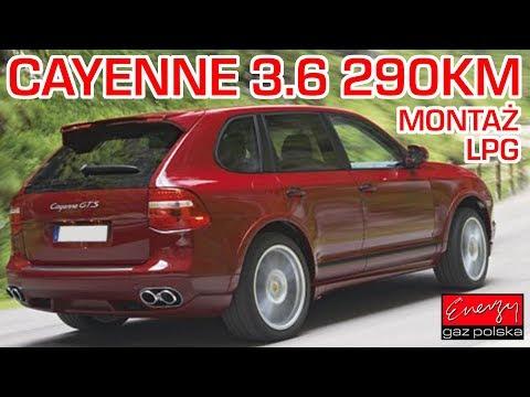Montaż LPG Porsche Cayenne FSI z 3.6 290KM 2007r w Energy Gaz Polska – wtrysk bezpośredni benzyny