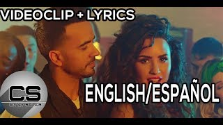 ►Échame La Culpa | Luis Fonsi ft Demi Lovato (Sub English/Español)