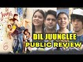 Dil Juunglee PUBLIC REVIEW | First Day First Show | Saqib Saleem, Taapsee Pannu