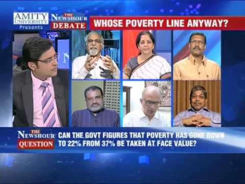 The Newshour Debate: Whose Poverty line anyway? (Full Debate)