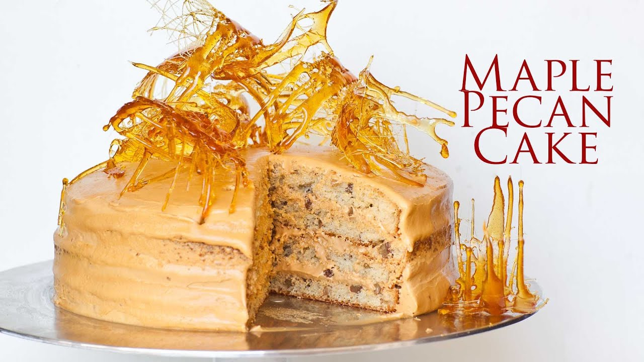 Recipe Butter Maple Cake