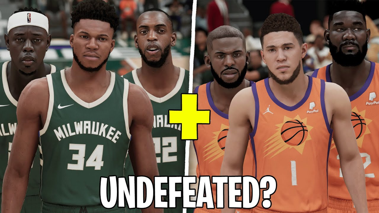Can the Bucks and Suns Combined Go 82-0?