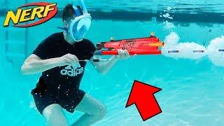 UNDERWATER NERF GUN MOD! (NERF MOD)